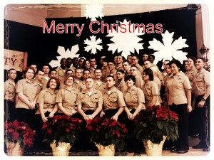 Merry Navy Christmas
