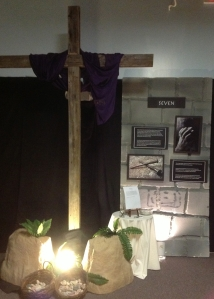 A station at last year's Journey to the Cross.