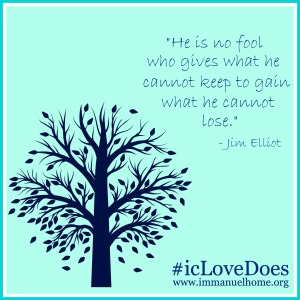 Jim Elliot Love Does