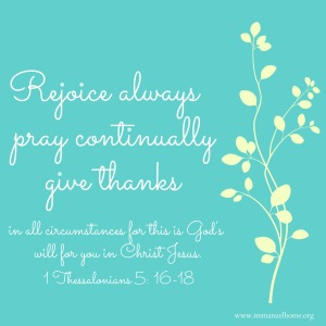 Thanksgiving Immanuel