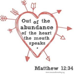 Abundance of the Heart blog 2.27.15